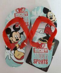 Blauwe Merkloos / Sans marque Teenslippers Mickey Mouse 29 / 30