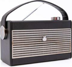 GPO Retro GPO DARCYBLA - Draagbare radio in retro style - Zwart