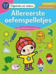 Deltas Oefenboek Met Stickers Allereerste Oefenspelletjes (3-4 Jaar)
