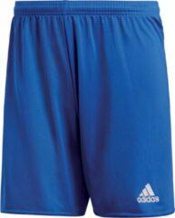 Blauwe Adidas Parma 16 Shorts Heren Sportbroekje - Bold Blue/Wit - Maat L