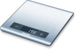 Roestvrijstalen Beurer KS51 - Keukenweegschaal - 5kg - incl batterijen - RVS