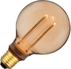 SPL Vintage globelamp LED 3,5W (vervangt 10W) grote fitting E27 goud