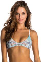 Rip Curl Beach Days Triangle - Bikini Oberteil für Damen - Blau
