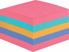 Post-it Super Sticky Notes kubus, voor ft 76 x 76 mm, geassorteerde regenboogkleuren