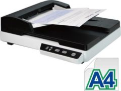 Witte Avision AD120 scanner: 50 vel feeder en A4 flatbed, 25 ppm