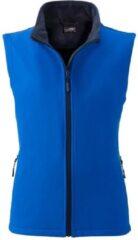 Marineblauwe James & Nicholson James and Nicholson Vrouwen/dames Promo Softshell Vest (Nautisch blauw/navy)
