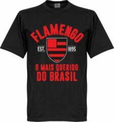 Retake Flamengo Established T-Shirt - Zwart - XXL