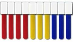 Label the Cable 2530 19 inch Kabelhouder Blauw, Geel, Rood