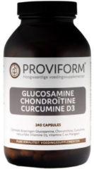 Proviform Glucosamine Chondroïtine Curcumine D3 Capsules 240st