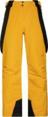 Gele Protest OWENS Skibroek Heren - Dark Yellow - Maat XS