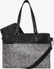 Witte Mozz Bags MOZZ Luiertas Wild Ones Savanna Zilver - Dots