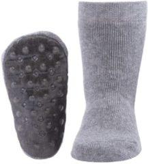 Ewers Anti-slip sokken Stoppi uni grijs melee - maat 31 - 34