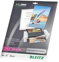 Leitz Lamineerfolie DIN A4 125 micron glanzend 25 stuk(s)