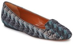 Blauwe Mocassins Missoni WM004