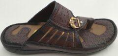 Lava Heren Slippers - Bruin - Maat 39
