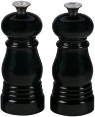 Zwarte Le Creuset Peper- en zoutmolen 13 cm 2-delig