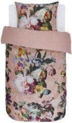 Roze Essenza Fleur Dekbedovertrek - Rose 140x200/220