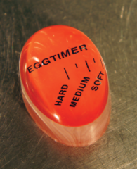 Rode Orange85 ComfortTrends Eggtimer Kookwekker Ei Hard/medium/soft - 3,5 cm