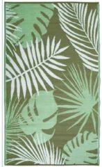 Esschert design Tuintapijt tuinkleed buitenkleed jungle groot 150 x 240 cm