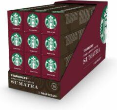 Starbucks by Nespresso capsules Sumatra Espresso Dark Roast - 12 doosjes à 10 koffiecups