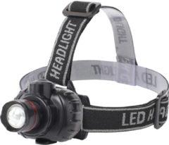 BES LED Led Hoofdlamp - Aigi Xixo - Waterdicht - 50 Meter - Kantelbaar - 1 Led - 1.8w - Zwart Vervangt 10w