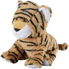 Greenlife Value GmbH Een heerlijke zachte knuffel in de vorm van een tijger, die ook nog eens warmte of verkoeling kan brengen. Hoe heerlijk is dit? Jouw lievelingsknuffel die ook nog eens jouw kruik wordt! De Warmies magnetronknuffel kan worden opgewarmd