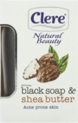 Clere - Natural Beauty - African Black Soap & Shea Butter - Soap 150g