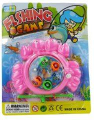 ARO toys Visspel magnetisch 6 visjes ass kleur