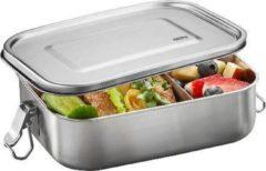 Zilveren Lunch box ENDURE - Groot - Gefu