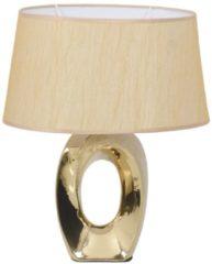 Tischleuchte Antonnette Näve goldfarben