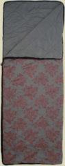 Grüezi bag WellhealthBlanket Wool deluxe Wolldecke Größe: 200x150 cm Farbe: rose/grey mit Print