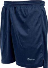 Marineblauwe Precision Voetbalbroek Madrid Junior Polyester Navy Maat S