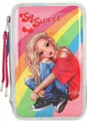 TOPModel etui met tekenspullen Cherry Bomb 20 cm roze 9-delig