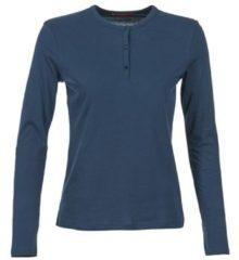 Blauwe T-Shirt Lange Mouw BOTD EBISCOL