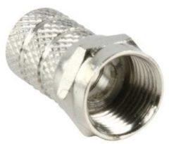 Valueline Konig F-connector met schroefbevestiging 7,5mm