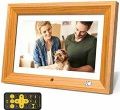 Kodak, digitale fotolijst, 10 inch, hout kleur