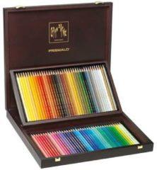 Alles Voor Kleuren Kleurpotlood Caran d'Ache Prismalo 80 stuks houten doos assorti