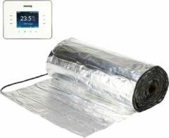 Warmup Set 8m² Verwarmingsfolie + Gratis WARMUP 3iE Programmeerbare Thermostaat | oa laminaat, PVC | 15jr Garantie | elektrische vloerverwarming