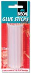 Bison Glue Sticks Hobby 12 stuks doorsnee 7 mm 12cm lengte universal