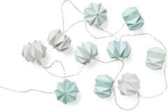 Blauwe Camcam origami gevouwen string led lights Mix Blue