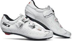 Witte Sidi Genius 10 Schoenen Heren, white/white Schoenmaat EU 42