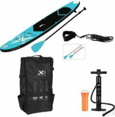 XQ Max Sup Board - Opblaasbaar - Complete set - Pomp - Verstelbare Peddel - Grote pomp - Opbergtas - Reparatiekit - Blauw
