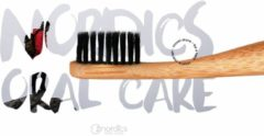 Zwarte Nordics Bamboe Toothbrush with Charcoal