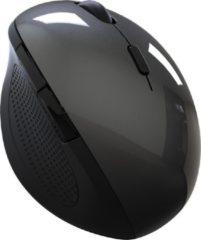 Indena Draadloze Muis Ergonomische Optische 2.4G 1600DPI Draadloze Rechterhand G-215 Voor PC Laptop - zwart