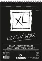 Canson tekenblok XL 150g/m�� formaat A3 40 vel zwart