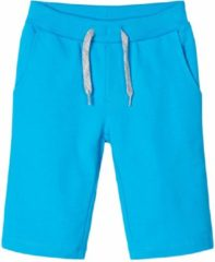 Blauwe Name it bermuda jongens - turquoise - NKMvermo - maat 92