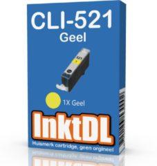 INKTDL inktcartridge voor Canon | CLI-521 Geel