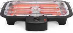 Tristar Elektrische tafelbarbecue BQ-2813 38x22 cm 2.000 W zwart