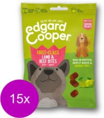 Edgard & Cooper Lam & Rund Bites - voor honden - Hondensnack - 15 x 50g