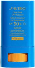 Shiseido Sonnenpflege Schutz Clear Stick UV Protector LSF 50+ 15 g